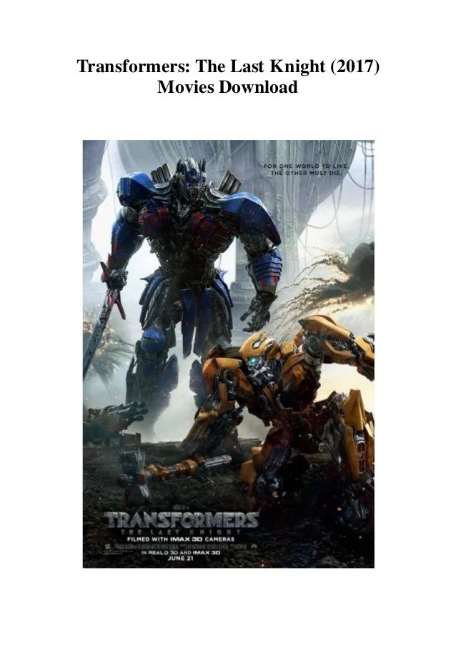 Transformers 5 Full Movie In Hindi Hd 720p Download : transformers, movie, hindi, download, Transformers, Knight, (2017), Movies, Download