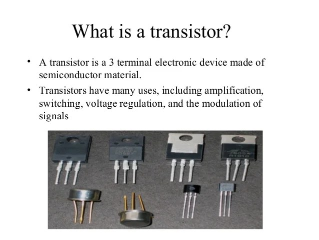 The Story Behind The Invention Of Field Effect Transistors