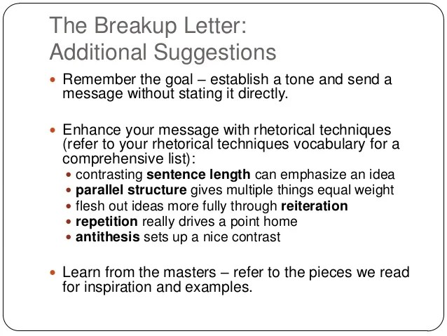 Gallery of breakup letter breakup letters breakup letter expocarfo Gallery