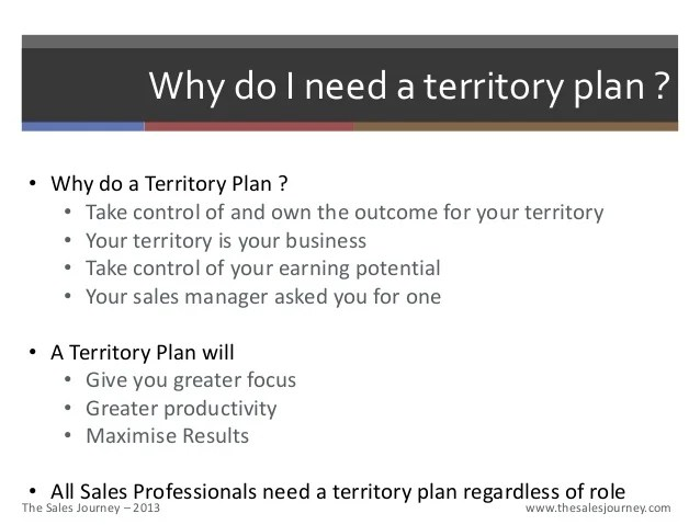 Sales Territory Plan Template Resume For Insurance