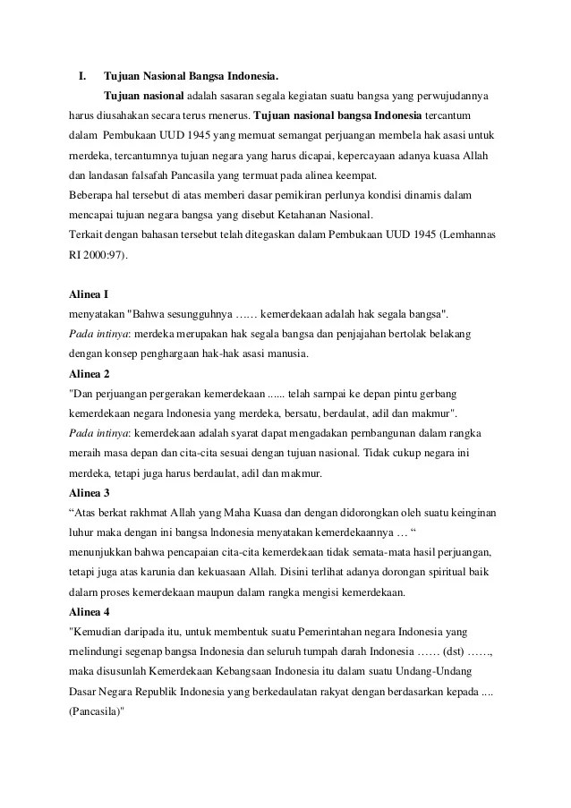 Tujuan Nasional Bangsa Indonesia Tercantum Dalam Pembukaan Uud 1945 Alinea : tujuan, nasional, bangsa, indonesia, tercantum, dalam, pembukaan, alinea, Tujuan, Nasional, Bangsa, Indonesia, (Mata, Kuliah, Pendidikan, Pancasila)