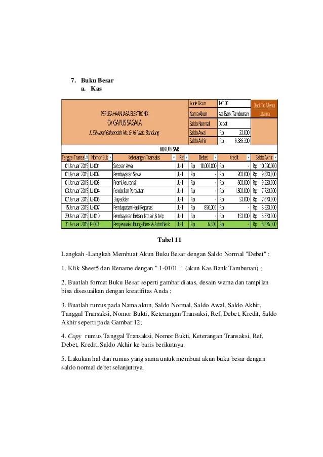 Rumus Excel Saldo Debet Kredit : rumus, excel, saldo, debet, kredit, Tugas, Automatisasi, Siklus, Akuntansi, Excel