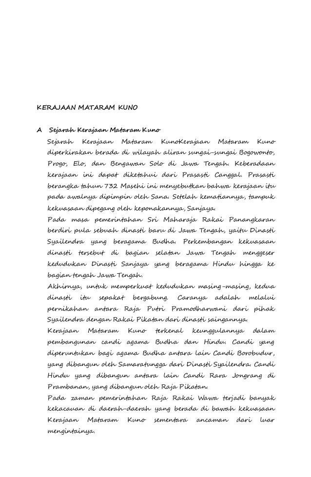 Makalah Kerajaan Mataram Kuno : makalah, kerajaan, mataram, Tugas, Makalah, Kerajaan, Kalingga, Mataram