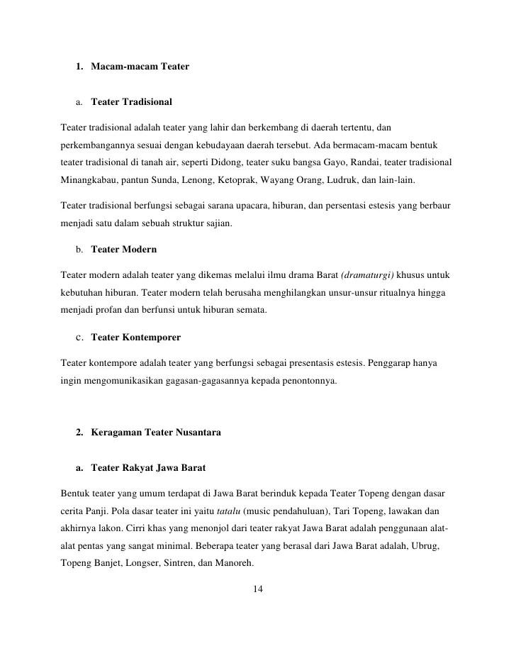 Macam Macam Teater Nusantara : macam, teater, nusantara, Tugas, Makalah, (wawasan, Nusantara), Harits