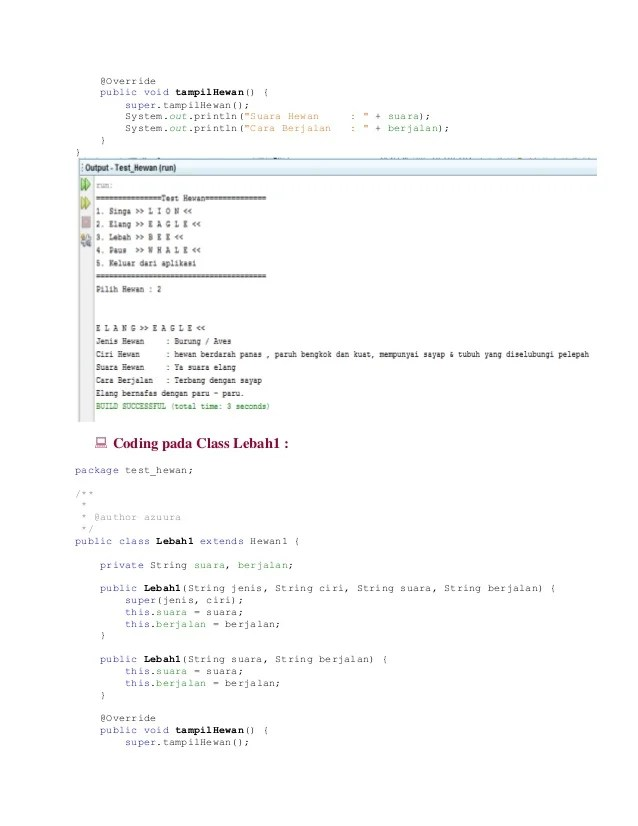 Memahami Konsep Polimorfisme (Polymorphism) Di Java