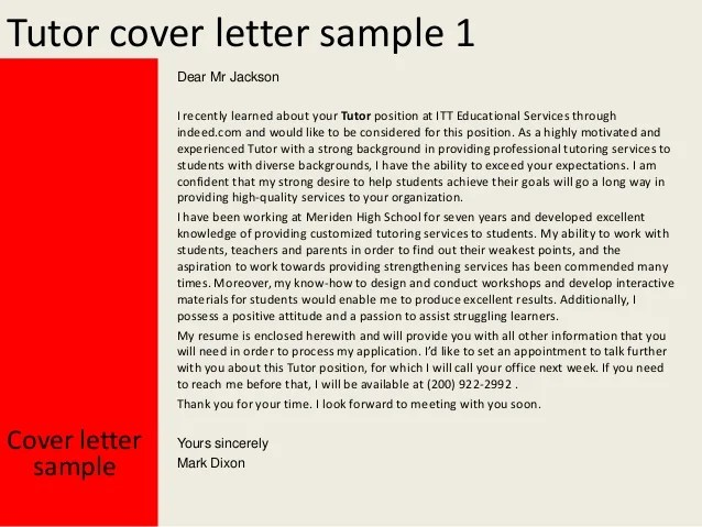 Writing A Cover Letter Help