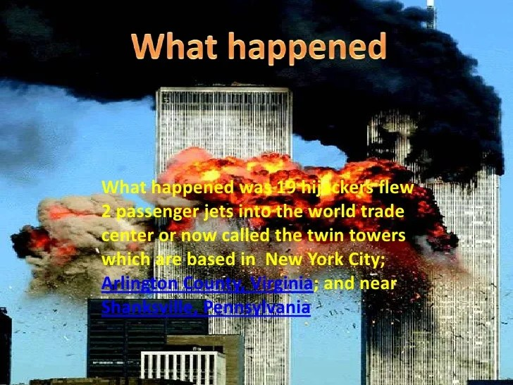 Twin Tower Attack