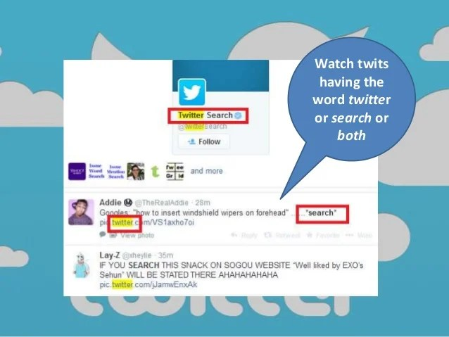 Twitter: Search Twits With Parameters Without Sign Up Or