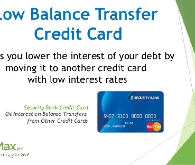 Interest Rate Maintenance Fees And Income Requirements 3 Low Balance Transfer Credit Card