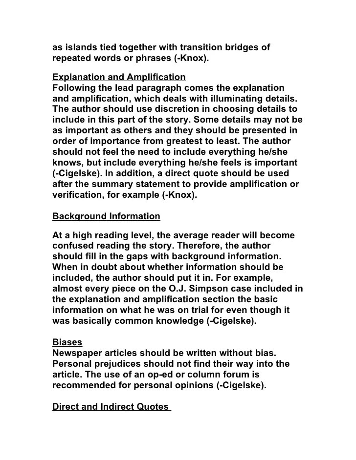 Types Of Newspaper Articles 1