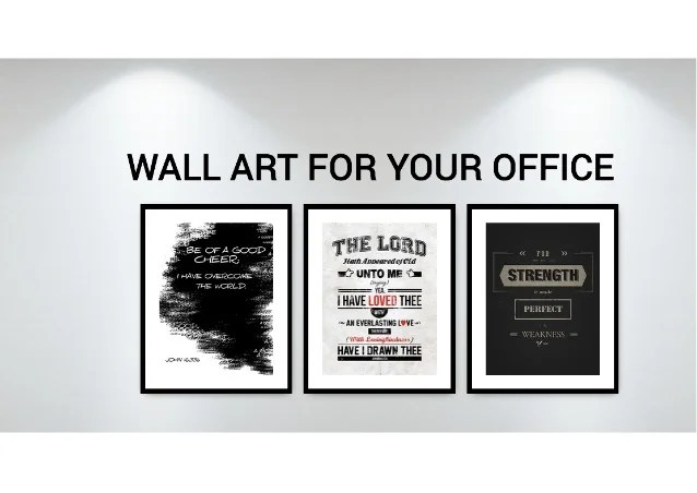 Inspirational Wall Art for Your Home or Office