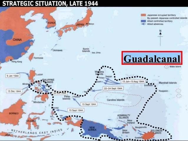 U.S. History WWII (CH 24 island hopping)