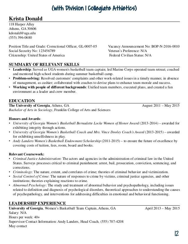 uga resume guide