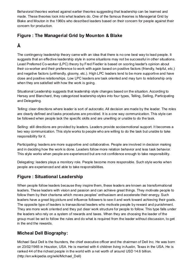 Leaders Essay Neighborhood Leadership Institute Leadership Skills