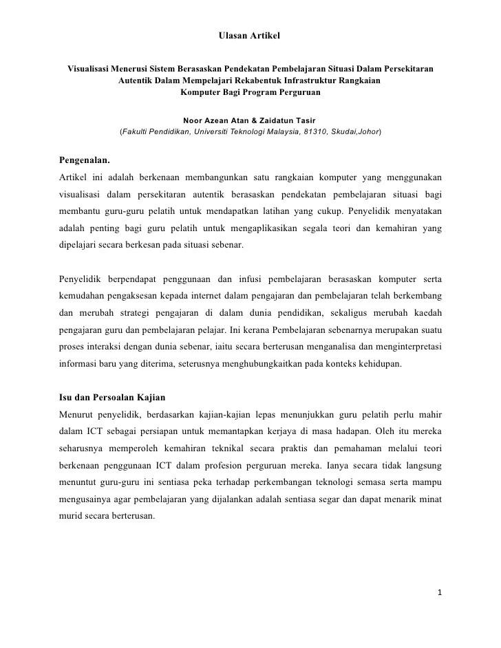 Contoh Review Artikel : contoh, review, artikel, Review, Artikel