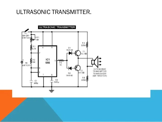 Audio Gt Ultrasonic Circuits Gt Ultrasonic Transmitter Circuit 555