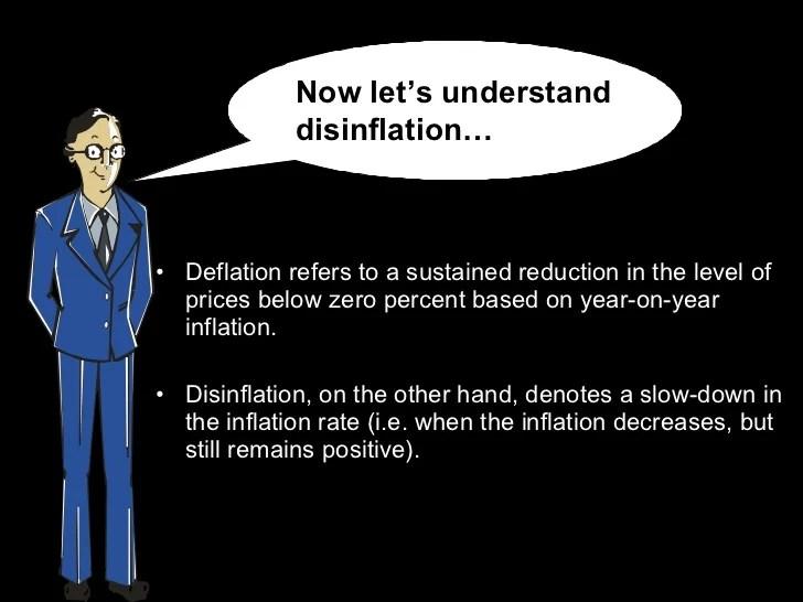 Understanding deflation