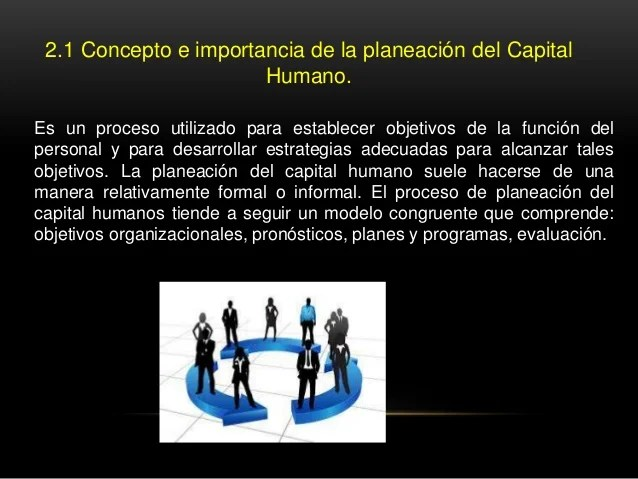 Unidad 2 Planeacion Estratejica Del Capital Umano