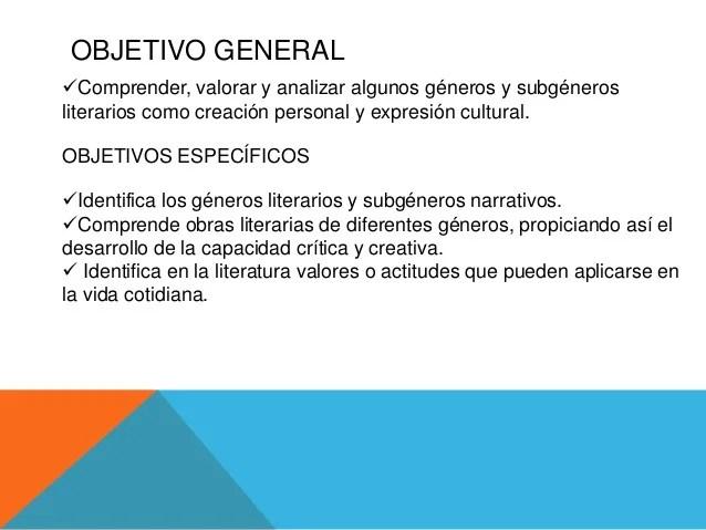 Unidad didctica 1 Generos literarios
