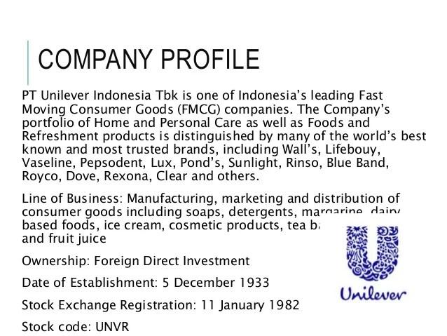 Unilever Strategic Management Assignment