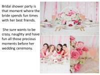 Unique bridal shower gift ideas