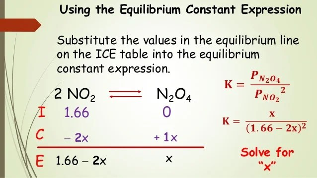 also chem chemical equilibrium  ice tables and calculati  rh slideshare