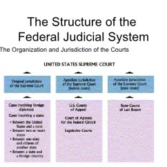 Judicial Branch Court System Diagram Fleetwood Wilderness Travel Trailer Wiring Unit 5 Academic The Structure Of Federal Figure 16 1