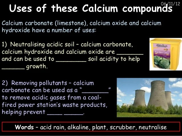 Unit c1 chemistry in our world
