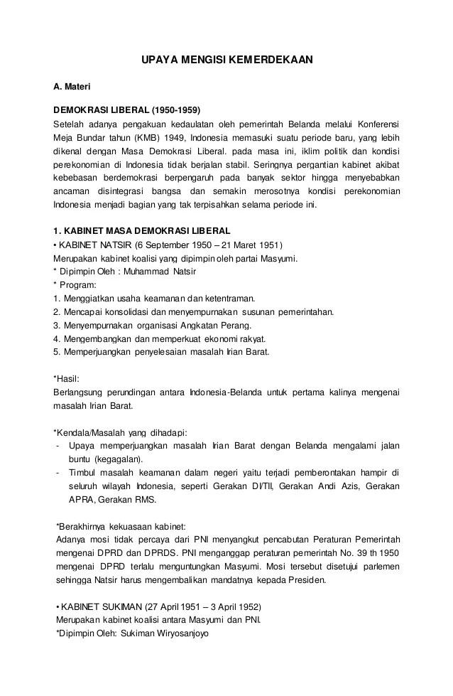 Kabinet Natsir Berlangsung Pada : kabinet, natsir, berlangsung, Demokrasi, Liberal, Indonesia, Berlangsung, Tahun, Tentang