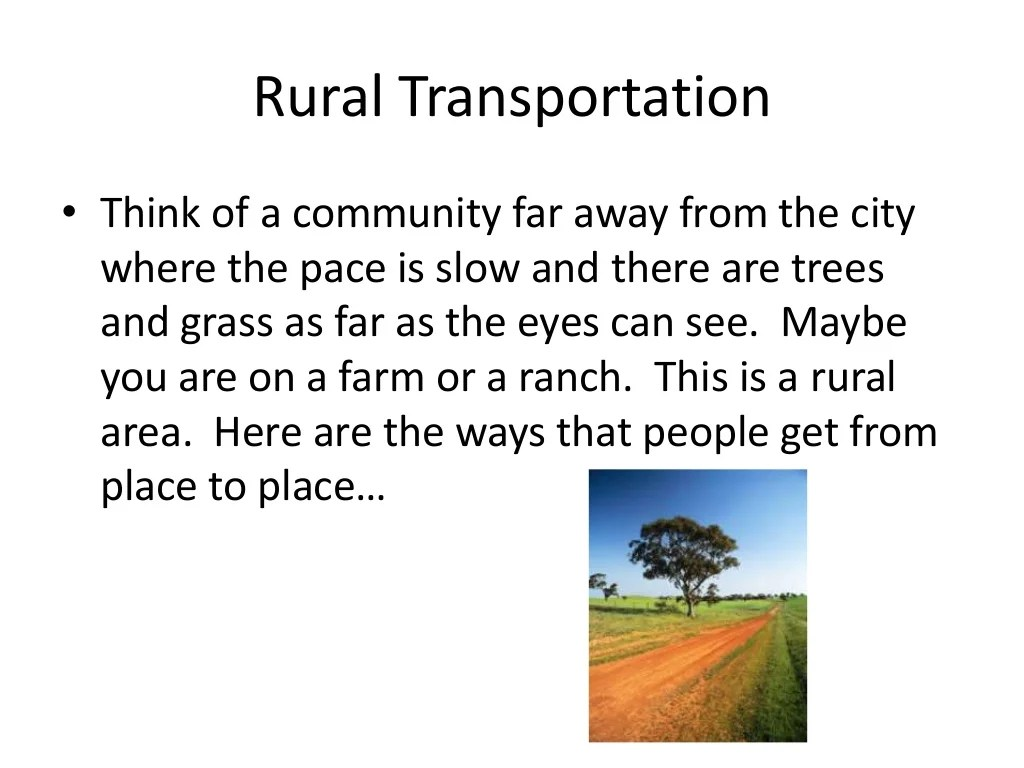 Urban Suburban And Rural Communities