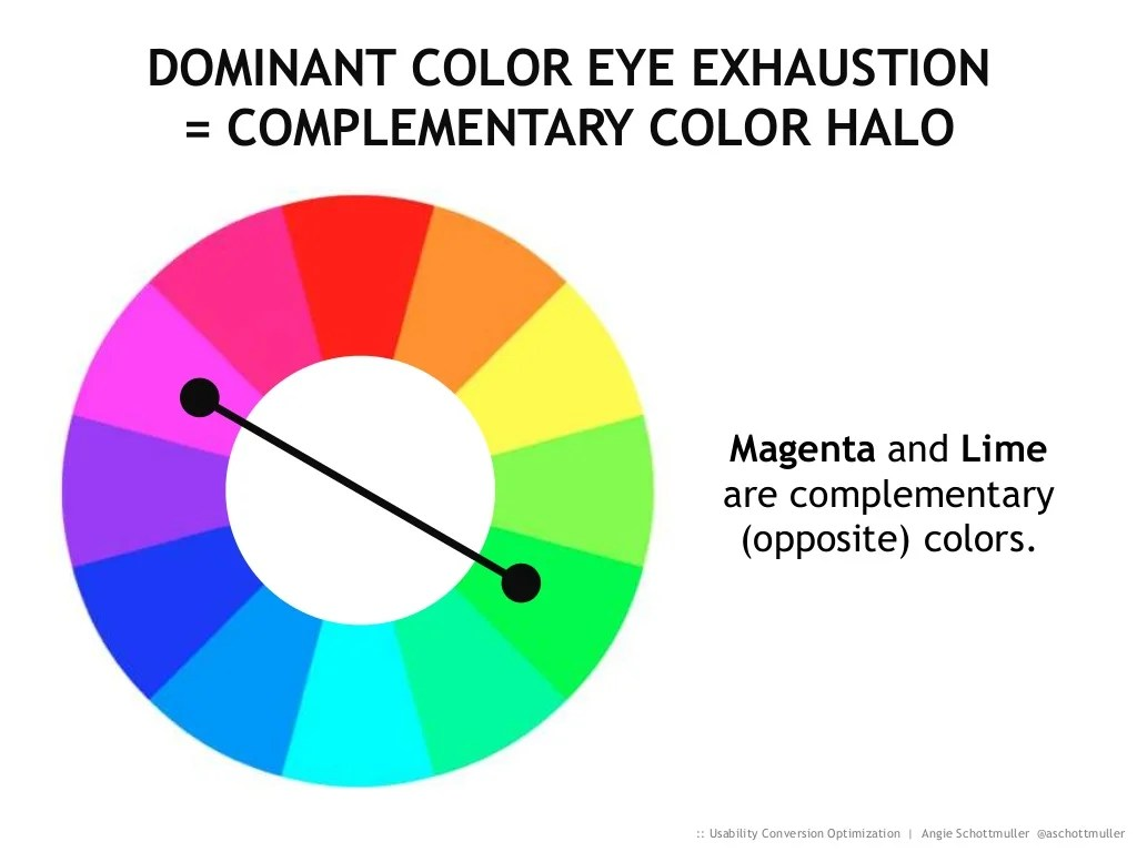 Dominant Color Eye Exhaustion