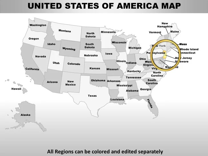 Usa new jersey state powerpoint county editable ppt maps
