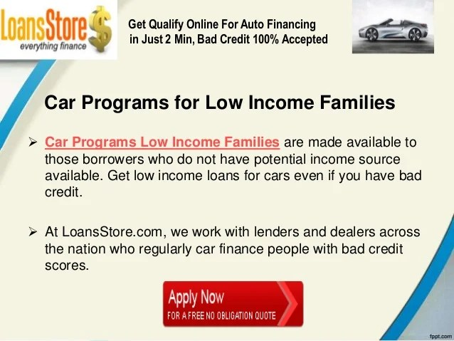 Used Cars for Low Income Families