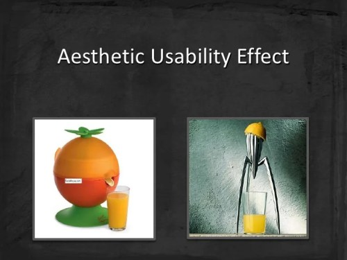 aesthetic usability effect