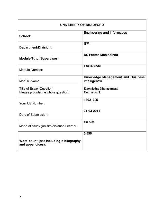 Knowledge Management Essay 4 Phases That An Organization Should