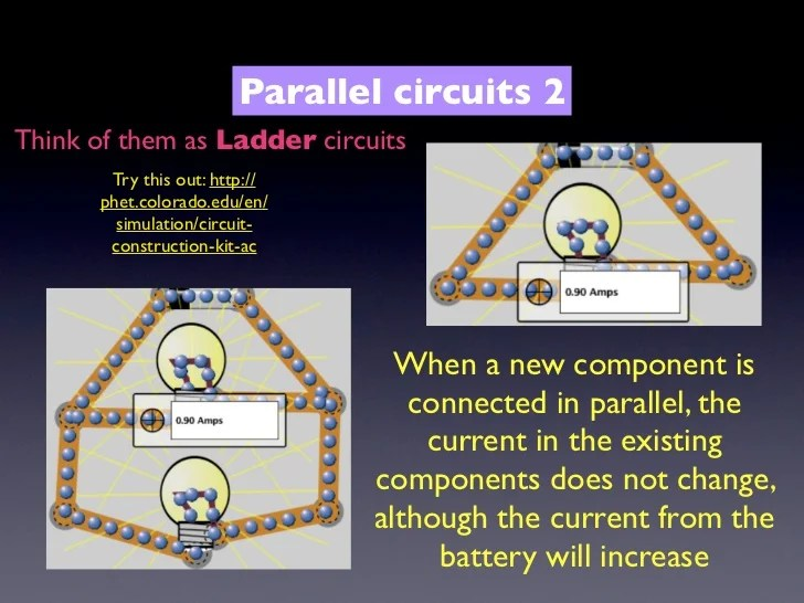 Parallel Circuit With One Lamps Http Academicgreensborodayorg