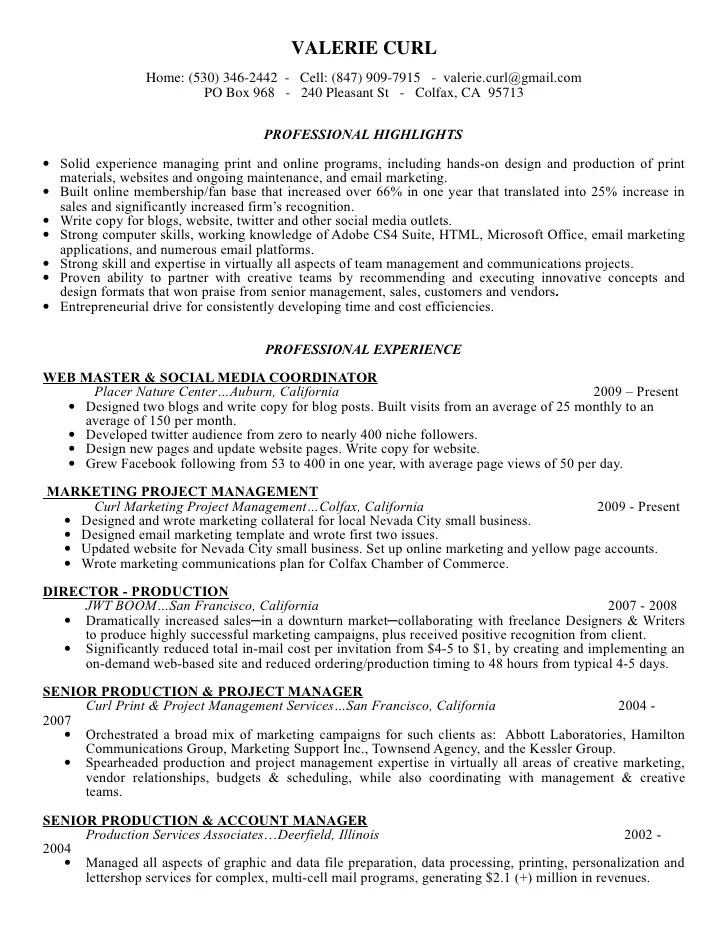 Web Production Manager Cover Letter. Web Production Manager Cover