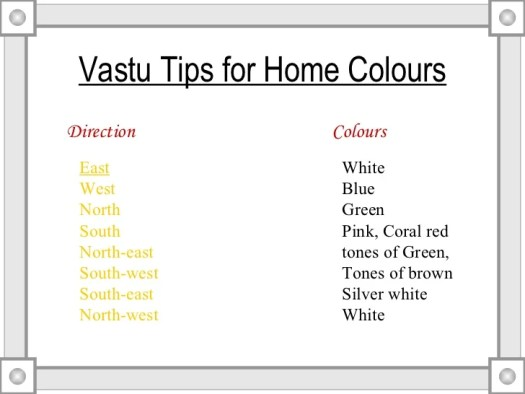 Color Of Bedroom As Per Vastu In Hindi Memsaheb Net
