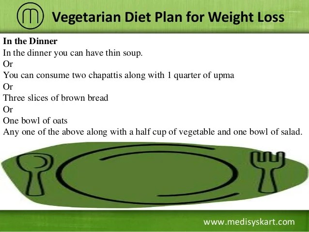 Vegetarian diet plan for weight loss also rh slideshare