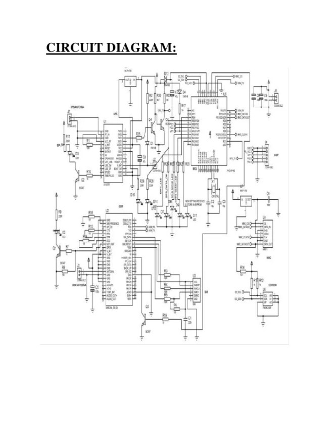 Gps gsm based vehicle tracking system circuit diagram the best based vehicle tracking system using gps and gsm ccuart Images