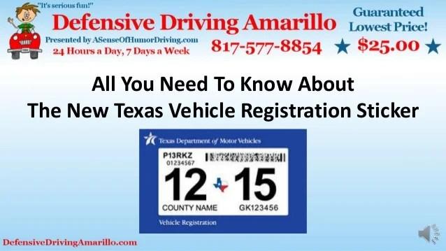 How Register Car Texas