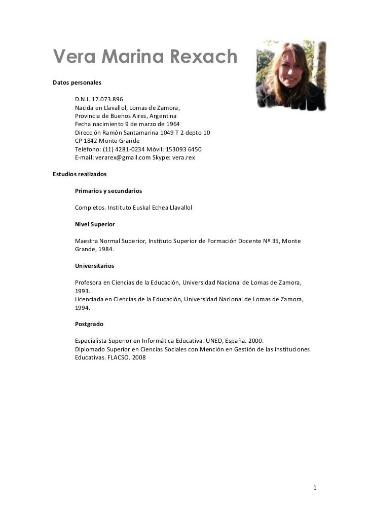 Curriculum Vitae Doc Peru Resignation Letter Template