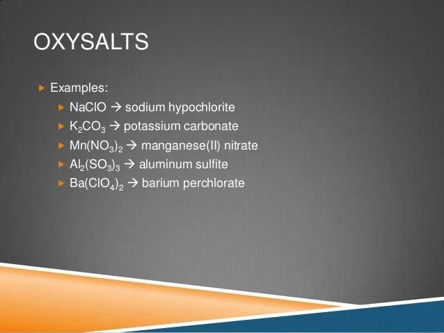 Carbonate Uses Sodium
