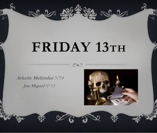 Friday 13 Th Arkaitz Melendez No14 Jon Miguel No 15