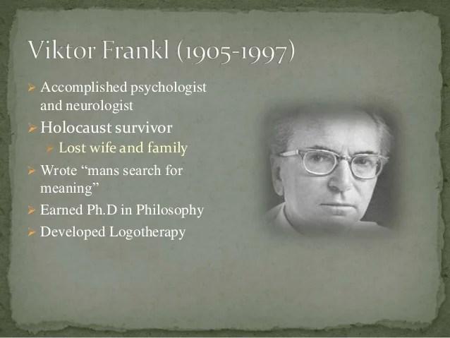 Viktor Frankl Powerpoint