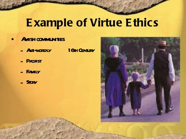 Virtue Ethicsoverview And Re Visit