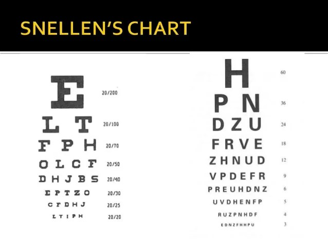 also visual acuity rh slideshare