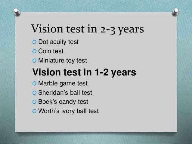 Vision also visual acuity in preschool children rh slideshare