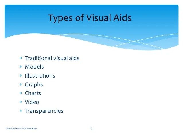 Visual aids in communication also new rh slideshare