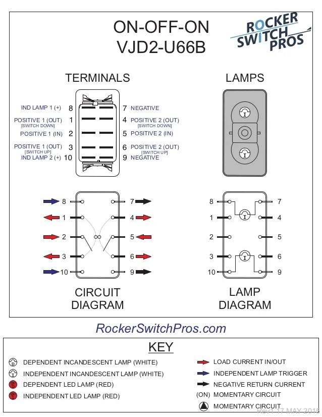 6 pin window switch wiring diagram visio 2013 uml component how to wire an on-off-on for both backlighting and indication